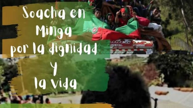 Minga  indígena arriba este domingo a Soacha