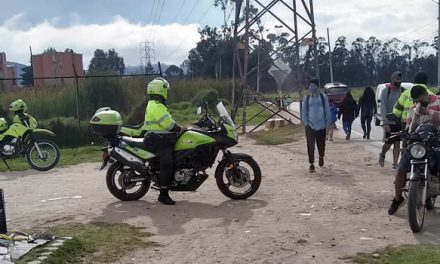 No paran  quejas por actitud de la Policía de Tránsito en la vía  Indumil de Soacha