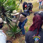 Infractores del Código de Policía de Soacha pagaron sanción recuperando cerros de San Mateo