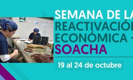 Hoy comienza la semana de la reactivación económica en Soacha