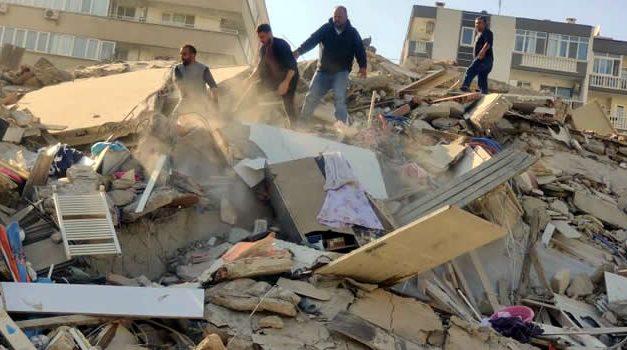 Al menos 14 muertos y más de 300 heridos deja por ahora terremoto en Turquía