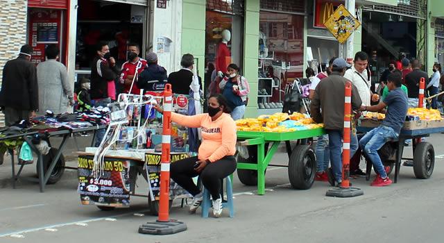 Distrito habilitó 23 zonas para el comercio formal e informal