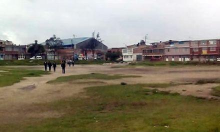 Comunidad decidirá qué construir en el Campo de los Locos de Soacha, hay tres diseños para escoger