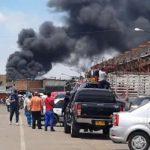Se incendia bodega cerca de Corabastos, ver video