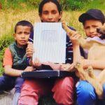 """Envenenaron a """"Luna"""": La mascota de la familia Youtuber campesina de Chipaque"""