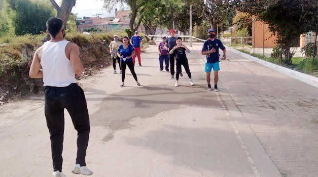 Aeróbicos comunales une a varios barrios de Soacha