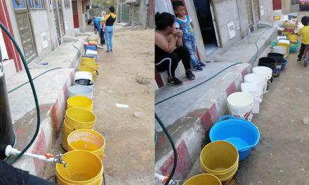 La sed invade a familias de un barrio de Soacha