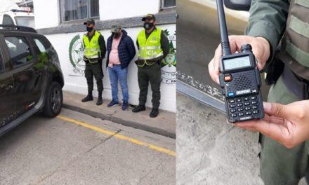 Con dispositivo inteligente sujeto robaba vehículos en Cundinamarca
