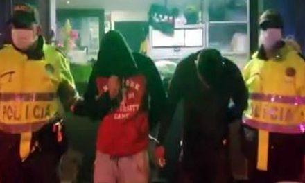 Policías y ladrones se enfrentan a disparos en plena Avenida 68 de Bogotá