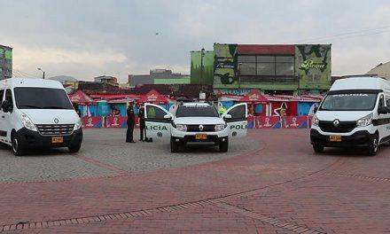 Motocicletas, vehículos y cámaras para fortalecer la seguridad en Soacha