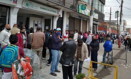 Molestia de usuarios del hospital Mario Gaitán de Soacha por demora en citas