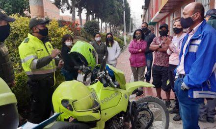 Con 'Frente de Seguridad', comunidad le hace frente a la delincuencia en barrio Soacha