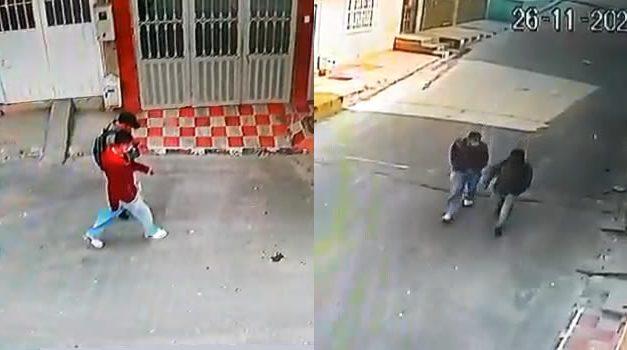 En cámaras queda registrado robo a vivienda del barrio Ricaurte de Soacha