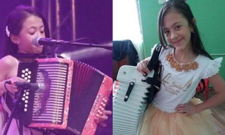 Niña soachuna se coronó reina infantil en festival vallenato del Atlántico