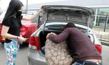 Más de 2 mil toneladas de papa vendidas durante el puente festivo en los peajes de Cundinamarca