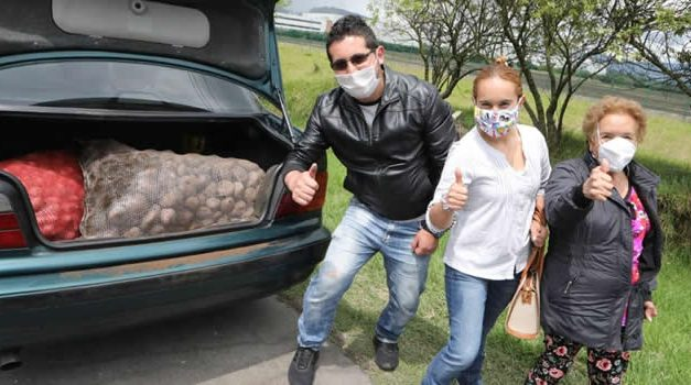 Ya van cerca de 30 mil bultos de papa vendidos en los peajes de Cundinamarca