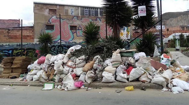 El parque de Soacha que está convertido en botadero de basura y desechos