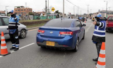 Siete conductores multados por no acatar Pico y Placa en Soacha
