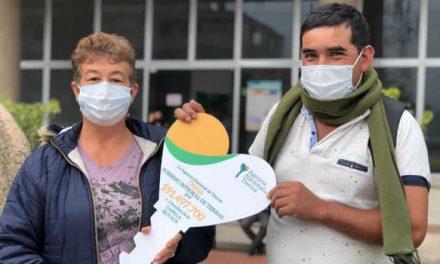 Desembolsos para proyectos productivos recibieron familias de Cundinamarca y Boyacá