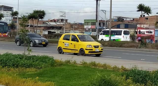 Taxistas de Soacha decidieron no unirse al paro, habrá servicio normal