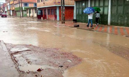 Invierno pone al descubierto pésimo estado de las calles de Soacha