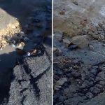 Lluvias destruyen  vía principal en comuna cuatro de Soacha