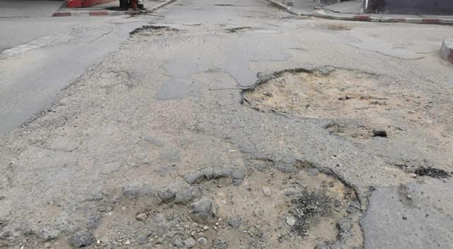 'Desastrosa', así califican la entrada principal al barrio Satélite de Soacha