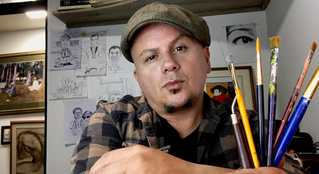 """La sátira y el sarcasmo son armas de reflexión masiva en las caricaturas de """"Rodas El profe"""""""