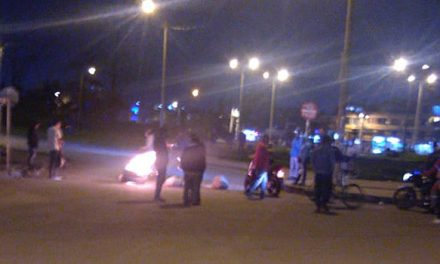 Transportadores informales bloquearon entrada a Ciudad Verde en Soacha