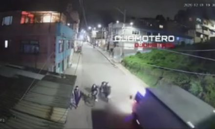 Violento choque de motorizado a ciclista en Cundinamarca