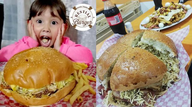 Las verdaderas hamburguesas gigantes llegaron a Soacha, visite Bestial Burger