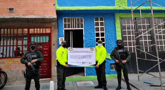Ocupan bienes utilizados para almacenar y comercializar bicicletas hurtadas en Bogotá y Cundinamarca