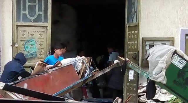 La bodega que recicla en plena calle de Soacha