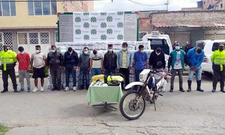 Desarticulan y judicializan dos bandas delincuenciales en Soacha