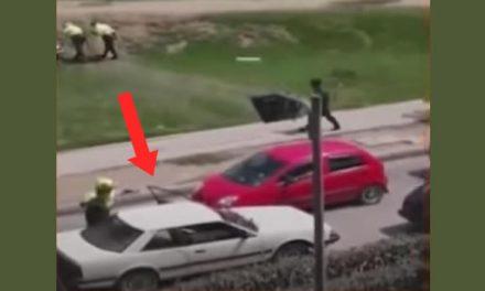 En persecución atrapan dos delincuentes en Ciudad Verde, uno era menor de edad