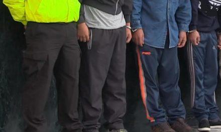 A la cárcel 'Los del Puente', capturados en San Mateo, Soacha