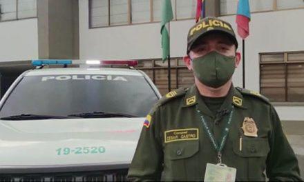 Policía Cundinamarca presenta balance del año 2020
