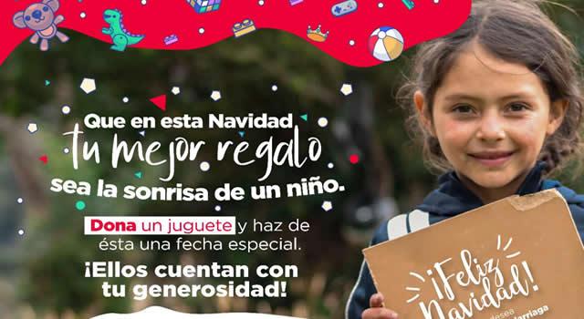 Alcaldía lidera donatón de juguetes en Soacha