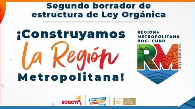 Ley Orgánica de la Región Metropolitana tiene listo segundo borrador