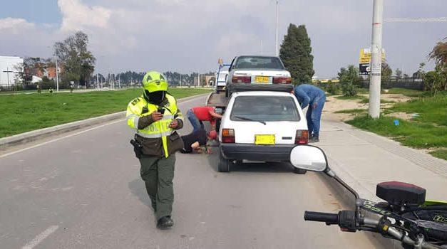 170 comparendos y 53 vehículos inmovilizados en operativos contra el transporte ilegal en Soacha