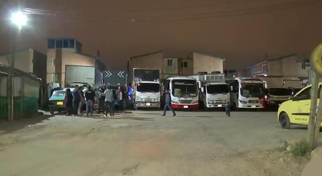 Se robaron cinco vehículos de un parqueadero de Bosa, límites con Soacha