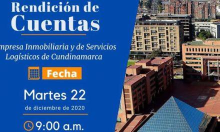 La Inmobiliaria de Cundinamarca realiza su rendición de cuentas