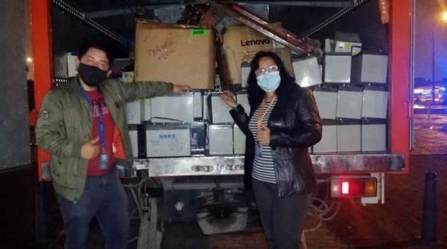 Cinco toneladas de Residuos de Aparatos Eléctricos y Electrónicos recolectadas en Cundinamarca