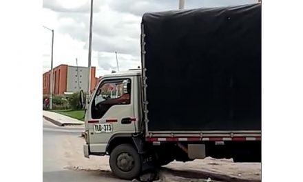 """""""Lo de la vía San Marón  de Soacha es falta de autoridad"""""""