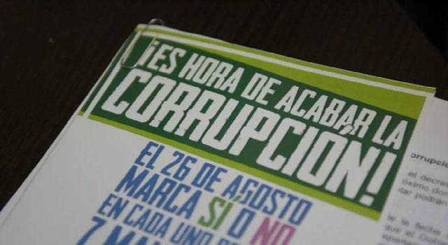 Congresistas buscan revivir la consulta anticorrupción