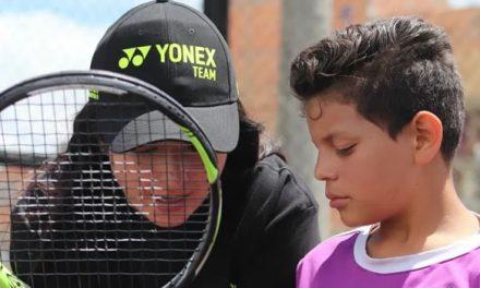 """""""Mach tenis"""" de Cazuca  busca apoyo en votación para ser ganadora en 'Titanes Caracol'"""