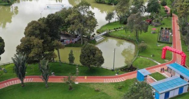 Parque de los novios reabre sus puertas con nueva pista de trote
