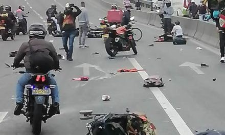 Muere bebé luego de ser arrollado por una moto en Bogotá