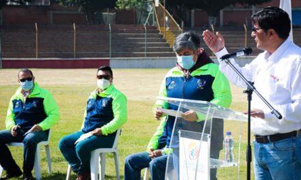 Socializan obras de adecuación del estadio de Soacha