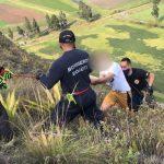 Hombre se lanzó a un abismo entre Soacha y Bosa para huir de los ladrones